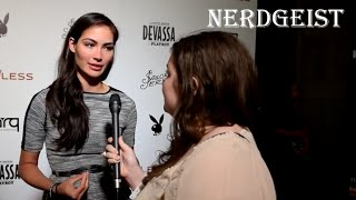 Caitlin McHugh Interview at Self/less & Playboy event (SDCC 2015)