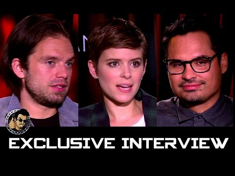 Sebastian Stan, Kate Mara & Michael Pena Interview - THE MARTIAN (JoBlo.com Exclusive)