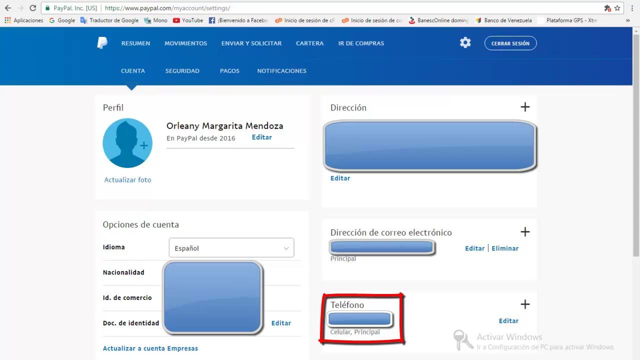 Paypal Espanol Telefono