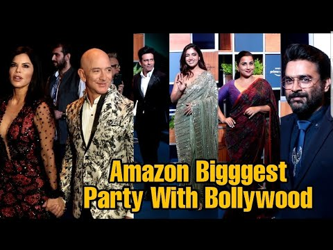 Amazon Prime Video Biggest Party With Bollywood | Complete Event | Jeff Bezos Grand Welcome