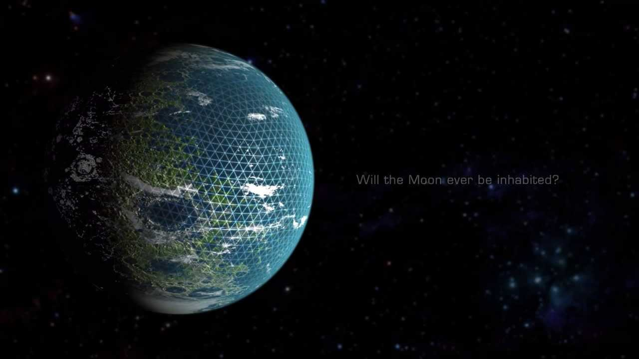 What Would A Terraformed Moon Look Like Youtube