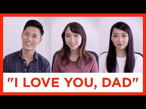 """It's Just Hard to Say """"Love"""" to Our Parents, Right?"""