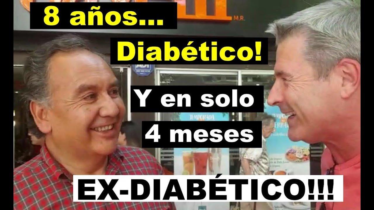 Diabético por 8 años y ex-diabético ¡¡¡en solo 4 meses!!!