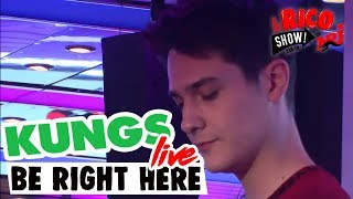 """KUNGS""""Be Right Here"""" Live - Le Rico Show sur NRJ"""