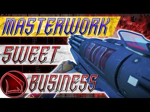 Видео destiny 2 sweet business masterwork