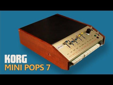 KORG MINI POPS 7 Analog Rhythm Box 1971 | HD DEMO | SAMPLE PACK