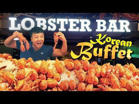 $6 Vs. $100 KOREAN BUFFET! LOBSTER All You Can Eat In Seoul