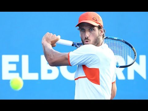 Feliciano López v Guido Pella highlights (2R) | Australian Open 2016