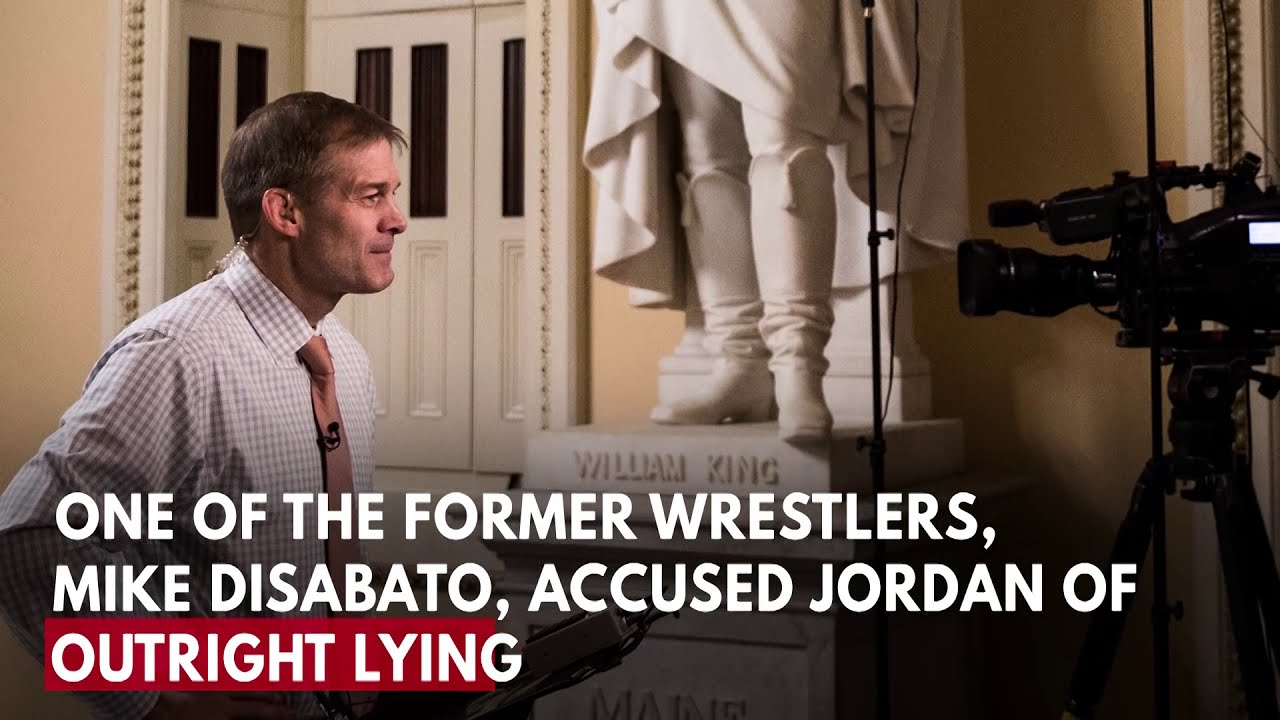Rep. Jim Jordan accused of knowing of sexual abuse at Ohio