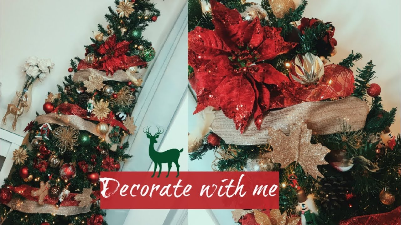 DECORATE MY TRADITIONAL CHRISTMAS TREE