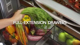 Refrigerator: FreshSeal™ Crisper Drawers | KitchenAid