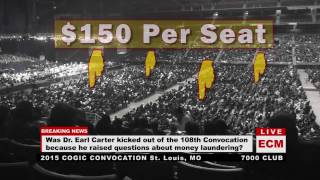 Dr. Earl Carter-Fleecing The Flock at St. Louis, MO COGIC Convention 11-3-15