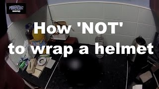 How To Vinyl Wrap A Motorcycle Helmet - Vinyl wrap for motorcycle helmets