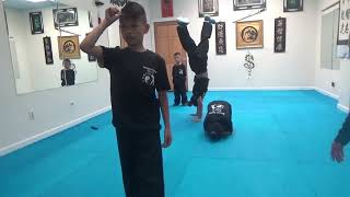 Kung Fu Kids - 4 Corners Challenge