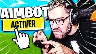 I ACTIVATED MY AIMBOT FOR THIS GAME (or not) ON FORTNITE BATTLE ROYALE !!!