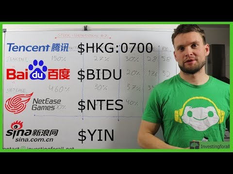 Tencent vs. Baidu vs. Netease vs. Sina [Chinese tech show-down]