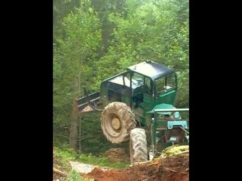 tracteur forestier extreme
