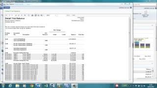 Basic Financial Reports in Microsoft Dynamics NAV 2013