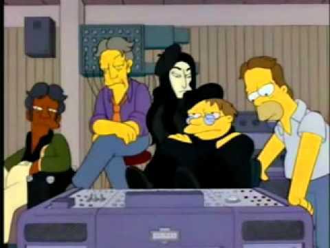 Simpsons barney gumble rutto numero 8 youtube for Ono oficinas
