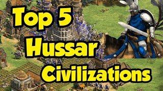 Top 5 Hussar Civs