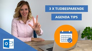 Tijdbesparende agenda tips & trick | Outlook