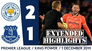 Extended Highlights: Leicester City 2 1 Everton