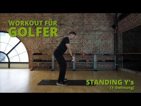 Fit durch die Golfsaison: Workout I