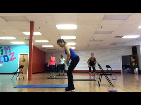 20ish minute of Muscle Conditioning with Rachel Pergl at Fitness In Motion