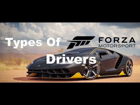 Types Of Forza Drivers