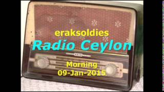 Radio Ceylon 09-01-2015~Friday Morning~01 Bhajan