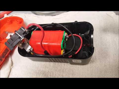 Convert your old electric tool battery to Lithium