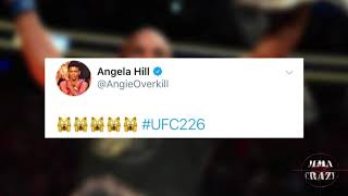 UFC Fighters react to Daniel Cormier KO Stipe Miocic at UFC 226