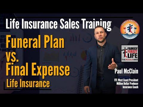 Funeral Plan Vs. Final Expense Life Insurance - Life Insurance Sales Training