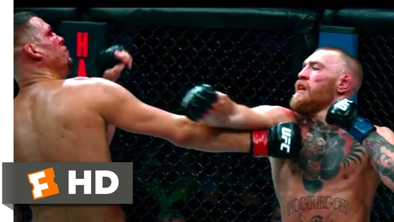 Conor Mcgregor Notorious 2017 Vs Nate Diaz Click Image For Larger Versionnameimg1634jpgviews268size638 Kbid Rematch Scene 10 Movieclips