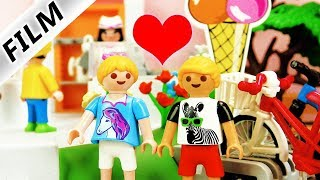 Playmobil Film deutsch | Streit mit DAVE?! HANNAH trifft Philipp in der Eisdiele | Kinderserie