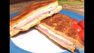 Monte Cristo Sandwich Recipe - Ham, Turkey & Cheese Delight! - Episode #240