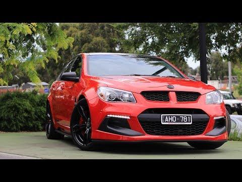 B7744 - 2015 Holden Special Vehicles Clubsport R8 LSA Manual Walkaround Video