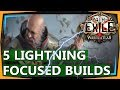 PoE 3.1 Builds - 5 Solid Lightning Focused Builds & Guides for War for the Atlas (2018)