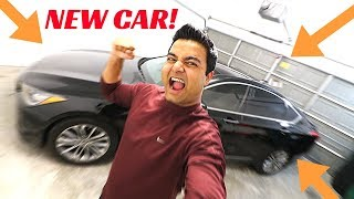 MY NEW CAR REVEAL!!!!