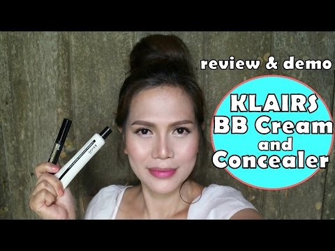 Klairs Illuminating Supple BB Cream And Concealer - Review + Demo (Wishtrend)