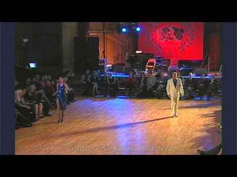 The Opening Night 3rd Tango Festival 2001 Hector Villalba & Hanna Korpela