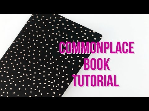 DIY Commonplace Book Tutorial | Serena Bee creative