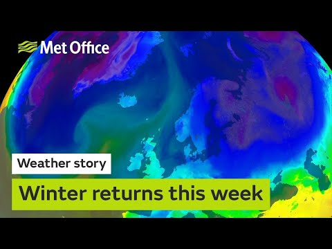 Winter returns this week, with colder weather on the way