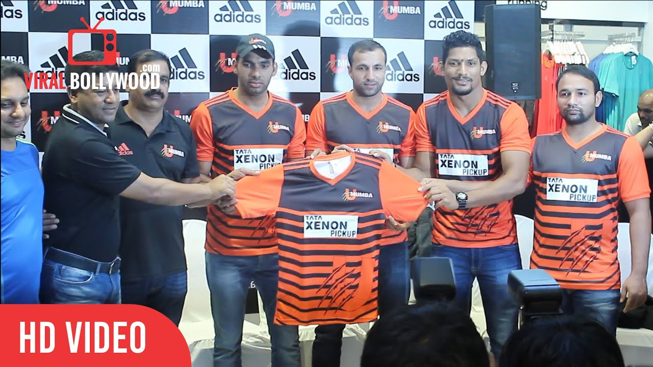Pro kabaddi u mumbai official jersey launch anup kumar rakesh youtube premium altavistaventures Choice Image