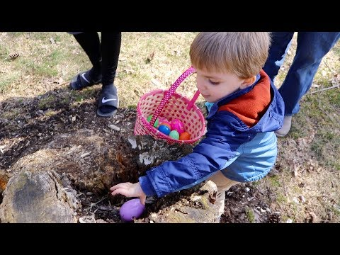 EASTER EGG HUNTING WITH CLARK! | EASTER 2018