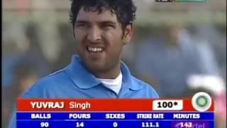 Yuvraj Singh 107 vs Pakistan in PAK 5th ODI 2006 !! Who wants to see him WC Sqaud?