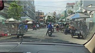Bổ Túc lái xe vào đường chợ cho người mới lấy bằng