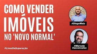 Como vender imóveis no pós-Covid? Diego Maia convida Marcelo Vasconcelos, CEO da Patrimóvel