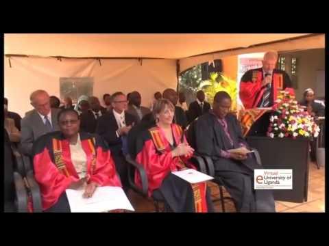 Virtual University of Uganda Graduation 2015