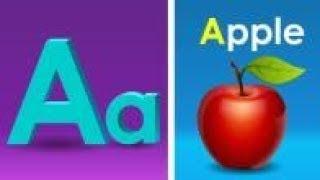 Học Tiếng Anh Nhạc Thiếu Nhi Chọn Lọc với HAI Từ - A Đối với Apple - ABC Song part 1